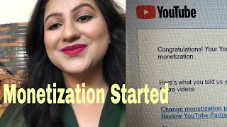Monetization started PROOF/ Good news for new youtube creators/ June2018 Monetization update