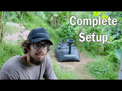 Complete HomeBiogas 2.0 setup and activation