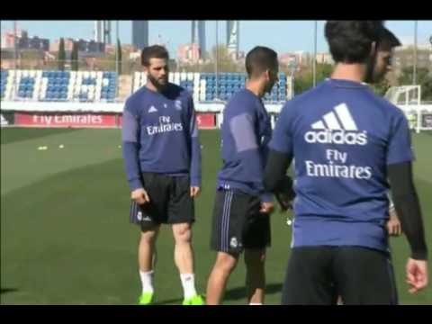 Real Madrid on Training Ground today 4-4-2017 HD 720