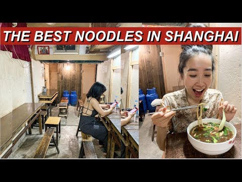 The Best Noodles In Shanghai! | Shanghai VLOG | Jenny Zhou 周杰妮