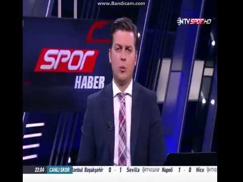 Ntv Spor Muhabiri Canlı Yayında Büyük Küfür Gafı ( YAR*K)