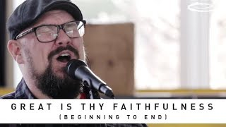 ONE SONIC SOCIETY FT. MIKE WEAVER - Great Is Thy Faithfulness (Beginning To End): Song Session
