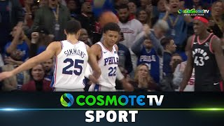 Σίξερς - Ράπτορς (110-104) #NBA Regular Season 2019/20 - Highlights - 9/12/2019 | COSMOTE SPORT