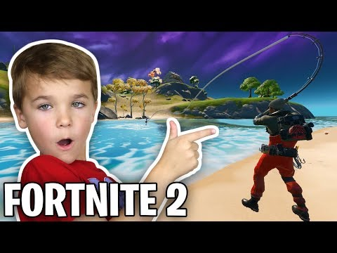PLAYING FORTNITE CHAPTER 2 FOR THE FIRST TIME!!!