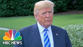 Watch President Donald Trump, Kim Yong Chol Interact After White House Meeting | NBC News