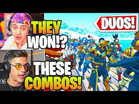 Streamers Host BIGGEST Duo SKIN & EMOTE Contest! (Fortnite)