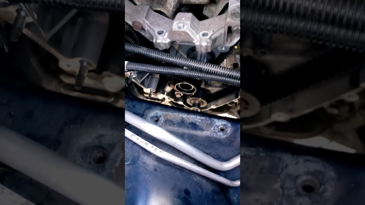 How To Replacement Timing Belt Chrysler Pacifica 2004 Youtube For Buick Century