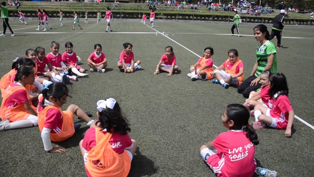 Las Ninas Cumplen Sus Metas En El Futbol Femenil Youtube