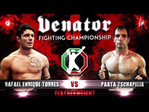 Rafael Torres Enrique vs. Paata Tschapelia (Venator FC 4)