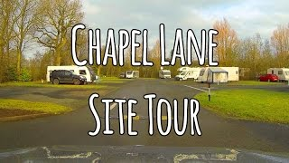 Caravan and Motorhome Club Chapel Lane site tour
