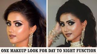 Bridal Look - Sangeet/ Cocktail Party Style #SangeetBridalMakeup #CocktailMakeup #HarshanRakesh