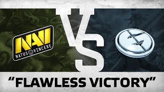 WATCH FIRST: Flawless victory! by Na`Vi vs EG @ SL i-League StarSeries S2 LAN