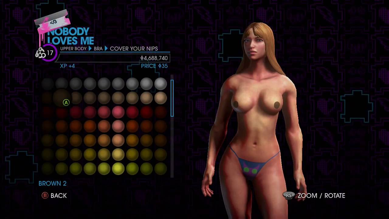 Consider, Saints row female nude opinion you