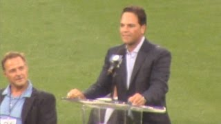 Mike Piazza's Retired Number Ceremony