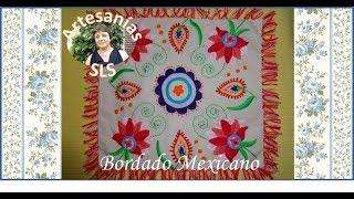 bordado mexicano almohadn 3 3