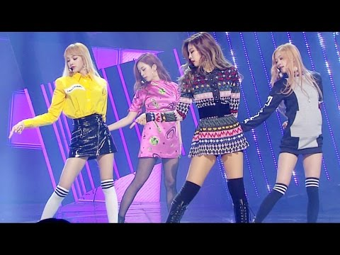 《Goodbye Stage》 BLACKPINK (블랙핑크) - PLAYING WITH FIRE (불장난) @인기가요 Inkigayo 20161211