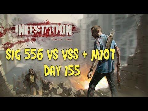 Infestation Survivor Stories Sig 556 Vs VSS + M107 (Day 155)