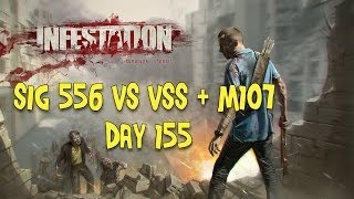 Infestation Survivor Stories Sig 556 Vs VSS + M107 (Day 155)