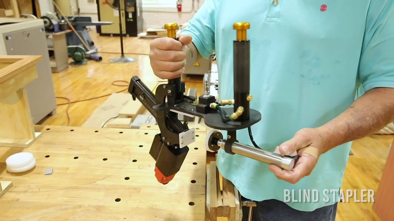 BLINDSTAPLER™ Introduction Cabinetry Made Easy