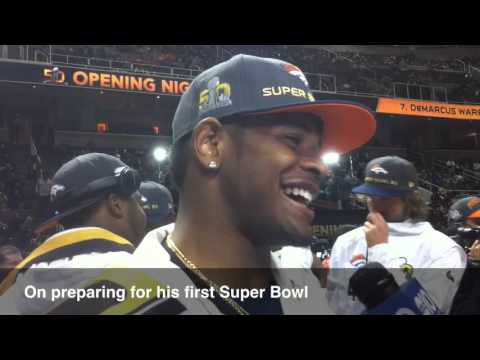 Broncos LB Todd Davis on his first Super Bowl