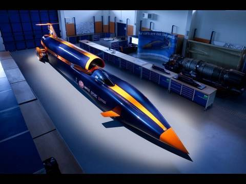 Bloodhound SSC 1050 mph  Fastest race in the world  YouTube