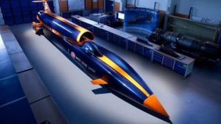 ► Bloodhound SSC 1050 mph - Fastest race in the world