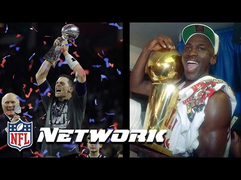 Tom Brady or Michael Jordan: Who is the GOAT? | NFL Network | Good Morning Football