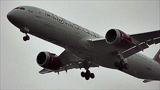 Virgin Atlantic *BRAND NEW* Boeing 787-9 Dreamliner | First Ever Arrival in the UK!