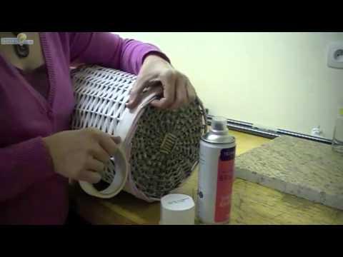customiser corbeille linge sale youtube. Black Bedroom Furniture Sets. Home Design Ideas