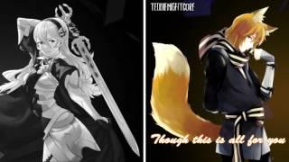 Repeat youtube video Nightcore - Demons (Switching Vocals) (cover) [Lyrics]