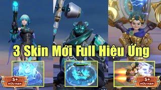 Zuka Mãnh Hổ, Violet Lam Tước và Max FULL Hiệu ứng 3 skin mới nhất - Sổ Sứ Mênh mùa 32 gọi tên
