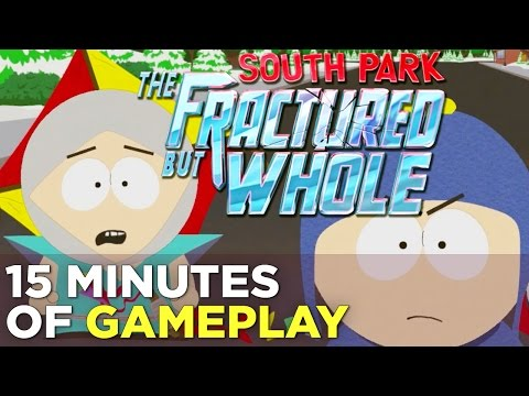 15 Minutes of SOUTH PARK: THE FRACTURED BUT WHOLE Gameplay