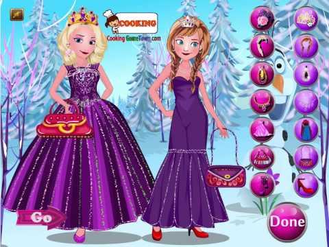 Juegos de vestir de frozen moda