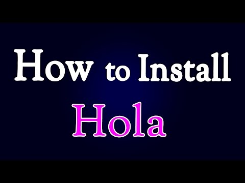 How To Install Hola Extension In Google Chrome