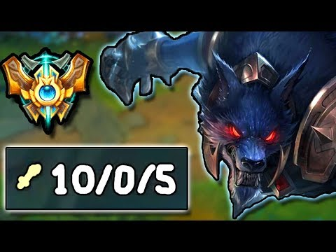 THE WARWICK GOD IS BACK! WHY DID I EVER LEAVE THIS CHAMPION?? - Challenger to Rank 1