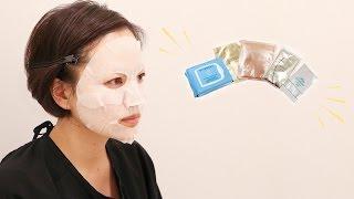 【西武所沢S.C.】tocotoco movie_ご褒美マスクで美肌ケア♪人気のマスクを比べてみました!