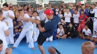 Jose Aldo Plays Capoeira in Rio de Janeiro