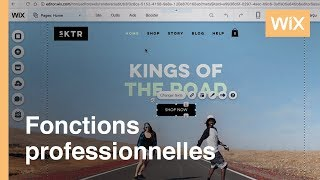 Effets d'animation | Ajoutez facilement des effets d'animation à votre site Wix