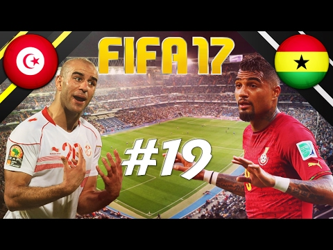 FIFA 17 - INTERNATIONAL ROULETTE #19 - TUNISIA VS GHANA