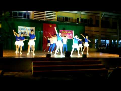 Giải Nhất Chung kết aerobic 2016-11a1-Trường THPT Lê Hồng Phong