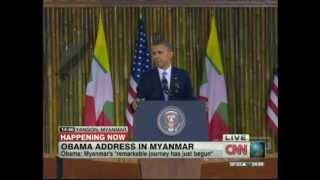 President Obama Yangon Myanmar Speech (November 19, 2012) [1/3]