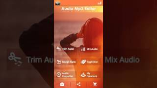 How To make songs by android Part 5 ( Audio Editor Software using in Song making )