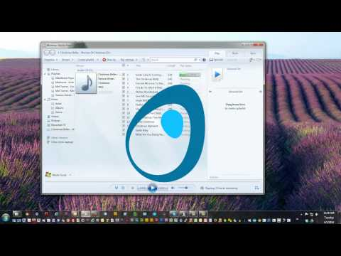 Rip CD's with Windows Media Player for your MP3 Player