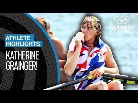 Katherine Grainger - Team GB's Most Decorated Female | Athlete Highlights