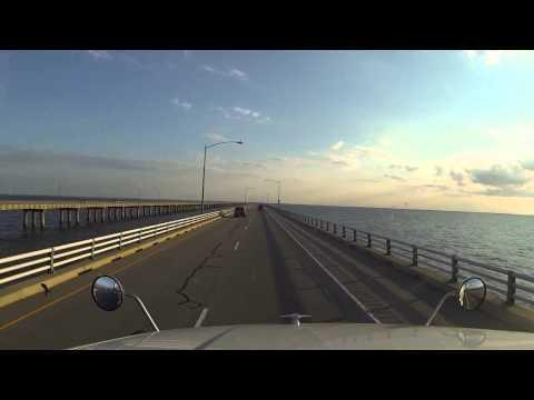 Ponte e Tunel - Que Obra - Chesapeake Bay, Virginia, EUA