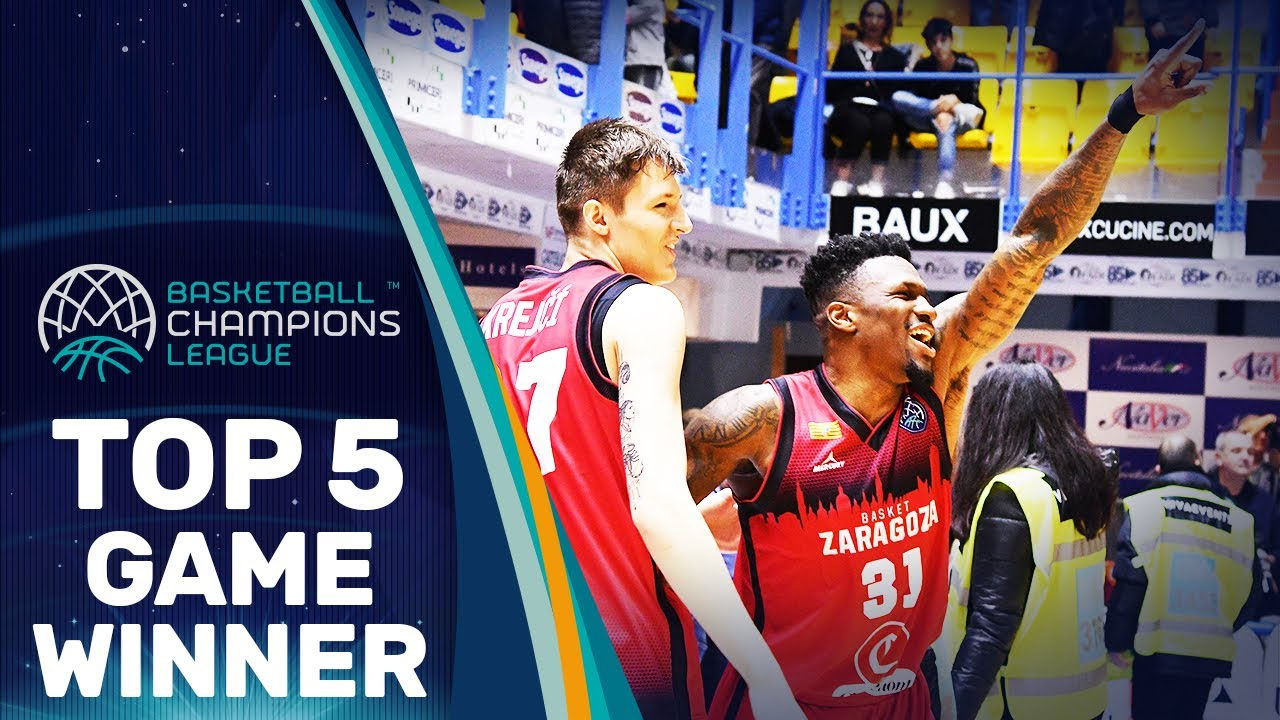 Top 5 Game Winner - Regular Season | Basketball Champions League 2019