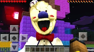 I Found The Ice Scream Man In Minecraft Pocket Edition!