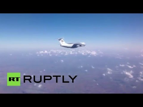 Russia & Syria air-drop humanitarian aid for Deir ez-Zor dwellers