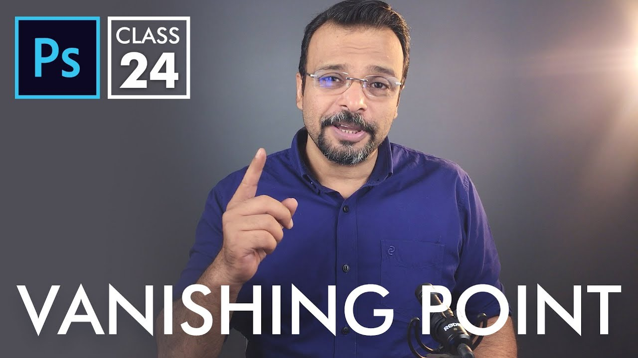 Vanishing Point Filter – Adobe Photoshop for Beginners – Class 24 – Urdu / Hindi
