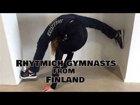 Rhythmic gymnasts from Finland